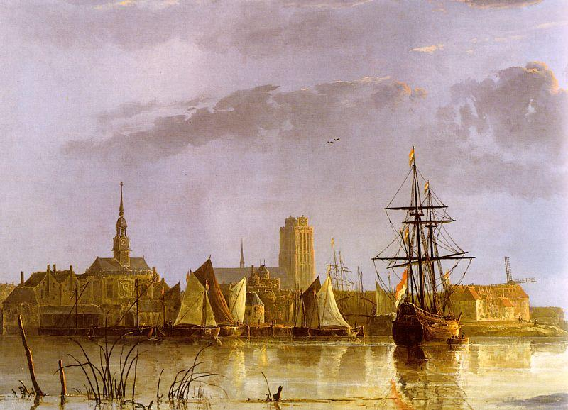 Aelbert Cuyp View of Dordrecht oil painting image